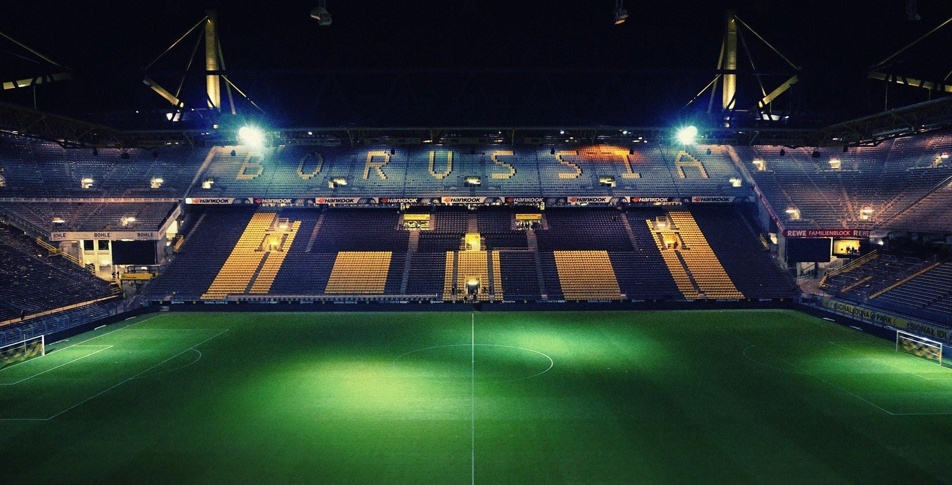 Das Stadion von Borussia Dortmund