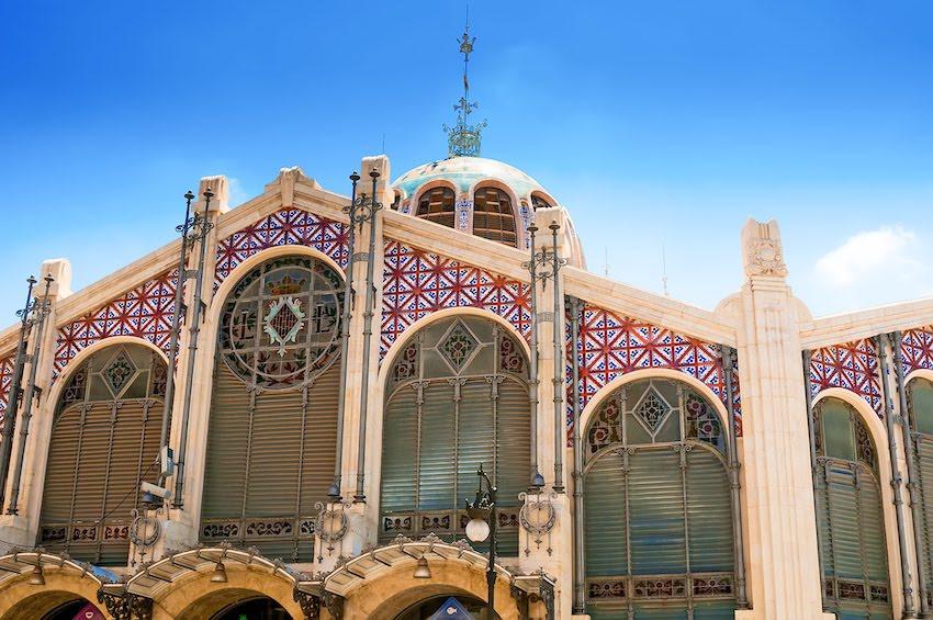 Der Mercado Central in Valencia ist eine der ältesten Markthallen in Europa