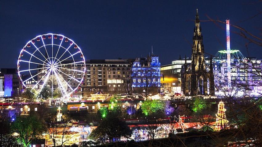 Weihnachtsmarkt Edinburgh