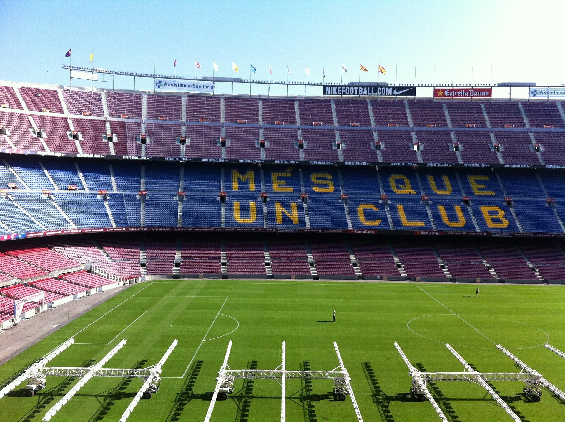 Das legendäre Camp Nou in Barcelona