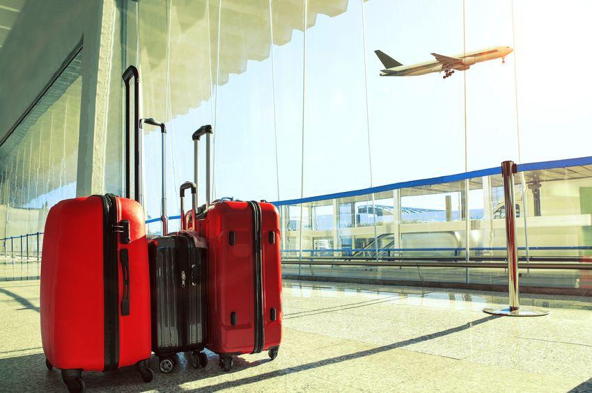 Verschiedenes Flugzeug-Gepäck