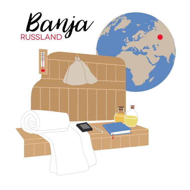 Banja – Russische Geselligkeit
