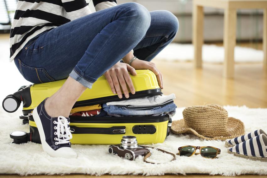 Weniger Gepäck mitnehmen