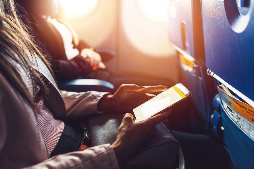 Internet im Flugzeug und auf Reisen