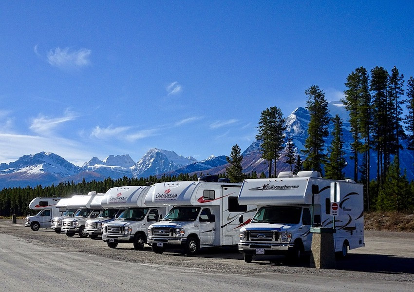 Motorhome-Urlaub in Kanada oder in den USA