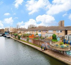 Homely 1 Bedroom Canal Side Flat with Balcony 2