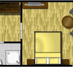 Doppelzimmer für 2 Personen (30 Quadratmeter) in Langeoog 1