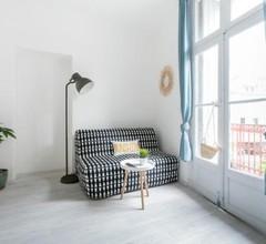 Studio proche Jean Moulin, location courte durée 1