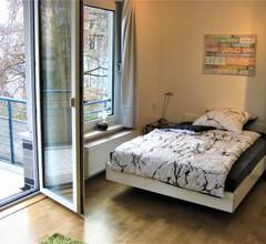 Hochwertiges Apartment im Grünen, zentral gelegen, ruhig, Balkon 1
