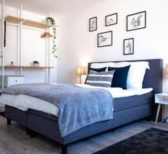 Helles Design-Appartement an der Messe 1