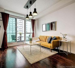 Instant Suites- Luxurious 1BR in Heart of Downtown with Balcony 2