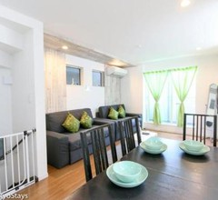 Monthly Stay OK with TV &House WIFI, 3 BR Tabata-Shinjuku House, JR Yamanote Line! 2