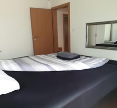3 Doppelbett Business Apartment am Bodensee 1