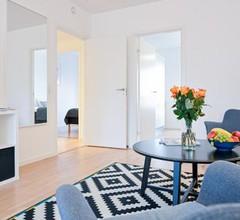 Three-bedroom Apartment with a Balcony in Copenhagen Ørestad near metro station 1