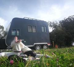 Casa rodante rv, caravana campamento Americano 1