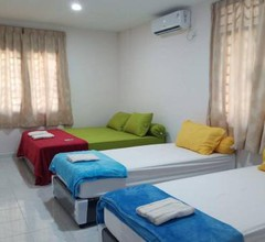 11 min walk to downtown, 3BR for 10pax, FreePickup 1