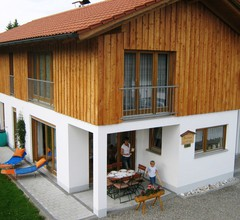 Luxurious holiday home in Lechbruck Bavaria private garden 1