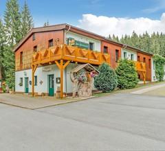 Luxuriöses Ferienhaus mit Trampolin in Jägersgrün 2