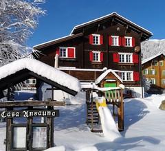 "Ferienhof Berther ""Casa Ansauna"", (Segnas/Disentis). ""Ansauna""  4 Zimmer Maisonette-Whg.  8 Betten  74 m2 2"