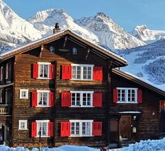 "Ferienhof Berther ""Casa Ansauna"", (Segnas/Disentis). ""Ansauna""  4 Zimmer Maisonette-Whg.  8 Betten  74 m2 1"