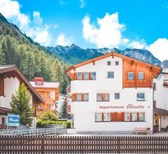 Ferienwohnung Appartements Alouette, (Samnaun-Dorf). Appartements Alouette Nr. 306, 70m2 1