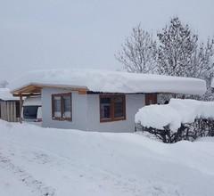 Luxus Wohnwagen 'Alpenblick' mit großem Anbau direkt am See 2