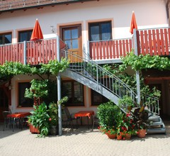 Ferienhaus Teubner (Merkendorf). Ferienwohnung 2 mit Terasse 2