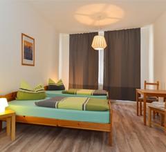 Ferienwohnung Hilbrecht (Arnstadt). FeWo mit, 2 Schlafr., 1 Wohnr., Küche, Du+WC, 87m²,4 P., 1.E 1
