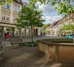 Ferienwohnung Hilbrecht (Arnstadt). FeWo mit, 2 Schlafr., 1 Wohnr., Küche, Du+WC, 87m²,4 P., 1.E 2