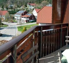 Ferienwohnung Haus am Wald, (Meßstetten). Ferienwohnung, 60qm, Balkon, 1 Schlafzimmer, max. 5 Personen 2