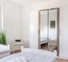 Ferienwohnung Bruchköbel, (Bruchköbel). Ferienwohnung BK03, 3 Schlafräume, Balkon, max. 6 Personen 2