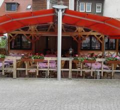 Südtiroler Stubn Café und Restaurant (Arnstadt). FeWo3 m. 1 Schlafr., 1 Wohnr. Küche, Du,WC, 40m², 3 P 2