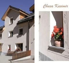 Ferienhaus Chasa Kasimir Nr. 1, (Samnaun-Ravaisch). 10 Personen / 7 Zimmer / 5 Schlafräume / Chasa Kasimir 1