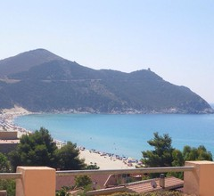 schönes Haus mit Panorama-Terrasse am Strand von Solanas, Klimaanlage 1