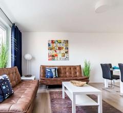 BK01 moderne Ferienwohnung in Bruchköbel mit Balkon in der Nähe von Frankfurt 2