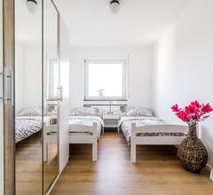 BK01 moderne Ferienwohnung in Bruchköbel mit Balkon in der Nähe von Frankfurt 1