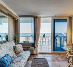 Wohnung mit möbliertem Balkon, Gemeinschaftspool, Whirlpool, Spielzimmer, Fitnessraum und Zugang zum Strand 1