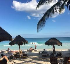 Privates koloniales Boutique-Haus mit einem kühlen Pool im Herzen von Downtown Cancun 2