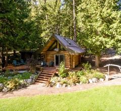 Lakefront Private Log Cabin, in der Nähe von Pemberton - The Bunkhouse 2