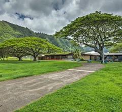 Serene Manoa Valley Home mit Tropischen Mtn. Ansichten! 2