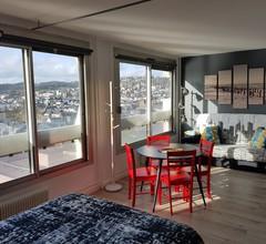 L'Hirondelle de Rouen, eine gemütliche Wohnung mit herrlichem Blick über die Seine 2