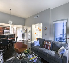 Moderne High Rise Blick Wohnung von Las Vegas Strip In The Heart Of The Downtown Dist 1