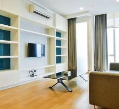 Grand Platinum SkyPool Suites KL Blick auf die Stadt 1