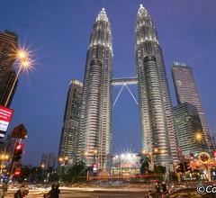Grand Platinum SkyPool Suites KL Blick auf die Stadt 2