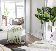 """""""Gehobenes Apartment mit 2 Schlafzimmern- Kostenfreiem Wlan- Komplexem Whirlpool und Theaterraum"""" 1"""