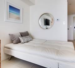 Ocean Million Dollar View Studio (Schlafmöglichkeiten für 4) + Balkon + Parkplatz + Pool + Fitnessstudio # 2 2