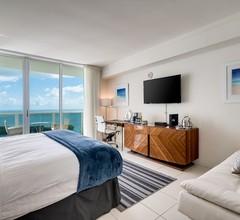 Ocean Million Dollar View Studio (Schlafmöglichkeiten für 4) + Balkon + Parkplatz + Pool + Fitnessstudio # 2 1