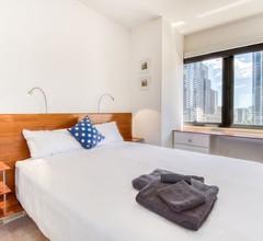 Emporium 1. 5 Betten mit Blick auf die Stadt, Pool, Fitnessraum & Sauna 2