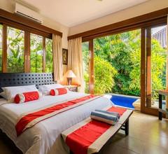 Begrüßen Sie den Tag vom Tauchbecken im Zen Villa Bali 2