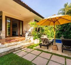 Begrüßen Sie den Tag vom Tauchbecken im Zen Villa Bali 1